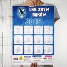 Projekt i wydruk kalendarzy