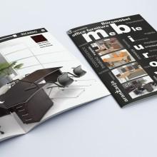 Projekt i wydruk katalogu 12 stronicowego